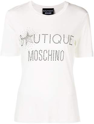 Moschino embellished logo T-shirt