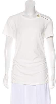 MICHAEL Michael Kors Crew Neck Short Sleeve Top w/ Tags
