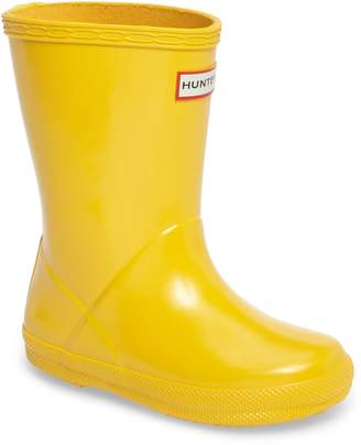 Hunter 'First Gloss' Rain Boot