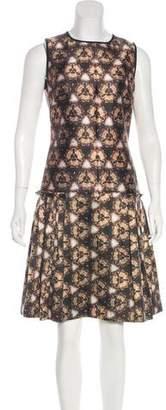 Prabal Gurung Printed Knee-Length Dress