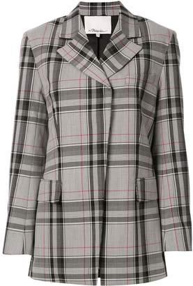 3.1 Phillip Lim plaid oversized blazer