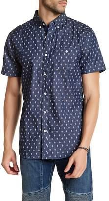 Sovereign Code Town Short Sleeve Print Regular Fit Shirt