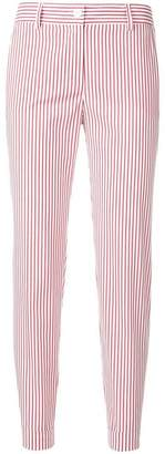 P.A.R.O.S.H. striped fitted trousers