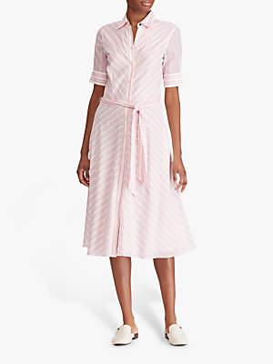 b4361668361 Ralph Lauren Ralph Stripe Belted Shirt Dress