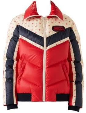 Gucci Long Sleeve Matte Nylon Puffer