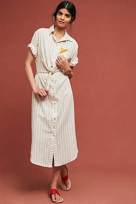 Corey Lynn Calter Fiesta Striped Shirtdress