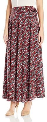 James & Erin Women's Wrap Skirt