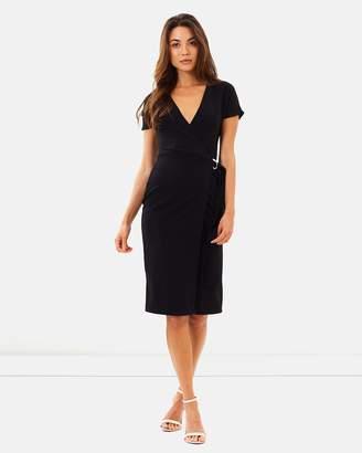 Dorothy Perkins D-Ring Wrap Dress