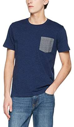 Brooks Brothers Men's Polo in Cotone Supima BLU T-Shirt, (Open Blue)