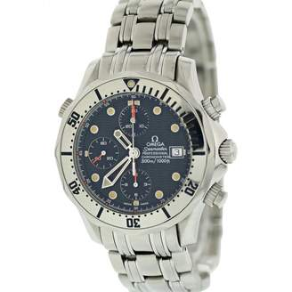 Omega Seamaster Silver Steel Watches