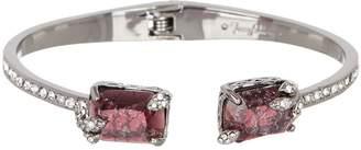 Jenny Packham Crystal Hinged Bangle Bracelet
