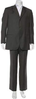 Alexander McQueen Wool Two-Piece Suit