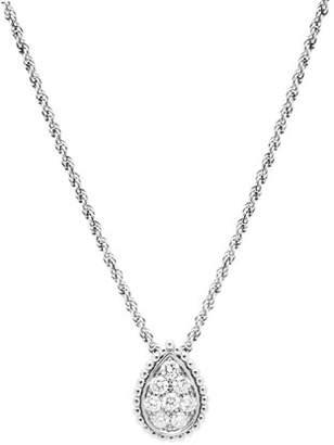 Boucheron Serpent Boheme 18k White Gold Diamond Necklace