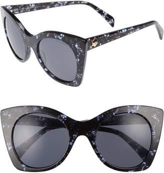 Draper James 51mm Geometric Sunglasses