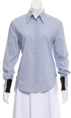 3.1 Phillip Lim Striped Button-Up Top