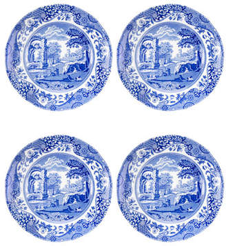 Spode Blue Italian Bread and Butter Plates, Set of 4