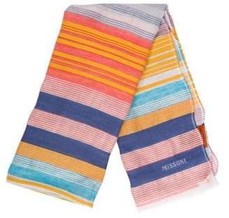 Missoni Striped Woven Scarf w/ Tags