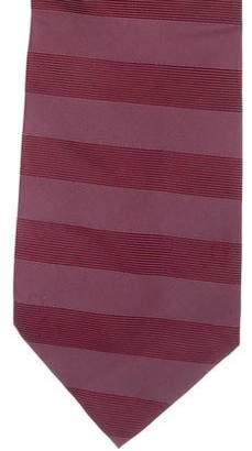 Valentino Striped Silk Tie