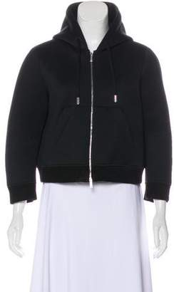 DSQUARED2 Hooded Zip-Up Jacket
