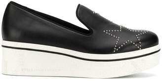 Stella McCartney Binx star studded loafers