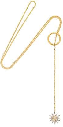 Celestial Star Hoop Long Necklace
