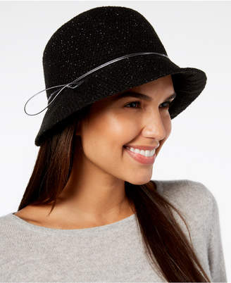 INC International Concepts Hatch-Weave Packable Cloche