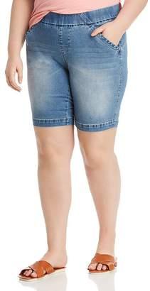 Jag Jeans Plus Gracie Denim Bermuda Shorts