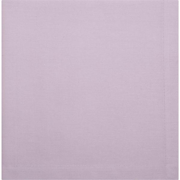 Crate & Barrel Cotton Lavender Napkin