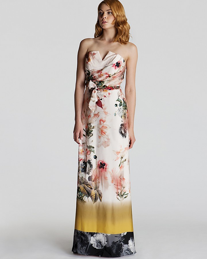 Ted Baker Gown - Aymay Opulent Bloom