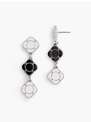 Talbots Geometric Drop Earrings