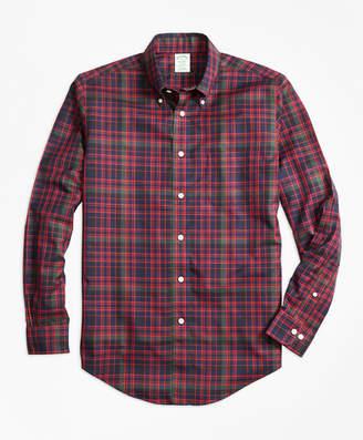 Brooks Brothers Non-Iron Milano Fit MacDonald Tartan Sport Shirt