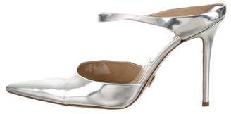Michael Kors Metallic Pointed-Toe Sandals