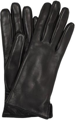 Portolano Mario Nappa Leather & Rabbit Gloves
