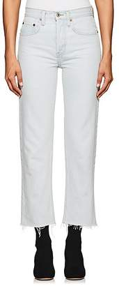 RE/DONE Women's High Rise Stovepipe Crop Jeans