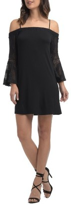 Women's Ella Moss Annalia Lace Cold Shoulder Dress $148.50 thestylecure.com