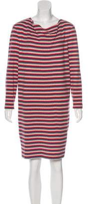 Cacharel Striped Knit Dress