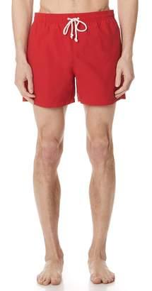 MAISON KITSUNÉ Par Rec Swim Shorts