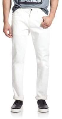 Madison Supply Slim-Straight Five-Pocket Jeans