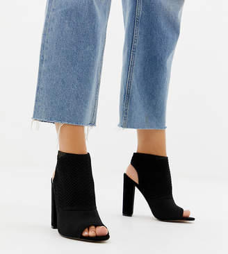 0fbcf96777af Asos Black Block Heel Sandals For Women - ShopStyle UK