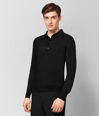 Bottega Veneta NERO SILK COTTON SWEATER