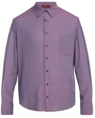 Sies Marjan Sander Single Cuff Shirt - Mens - Purple