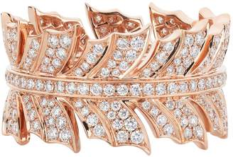 Stephen Webster Rose Gold Magnipheasant Pave Diamond Ring