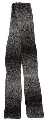 agnès b. Ombré Wool Scarf Grey Ombré Wool Scarf