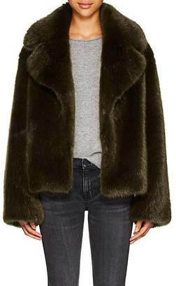 Nili Lotan Women's Sedella Faux-Fur Short Coat