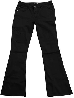 Supertrash Black Cotton Jeans for Women