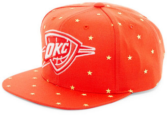 MITCHELL & NESS OK City Starry Night Glow-in-the-Dark Snapback $35 thestylecure.com