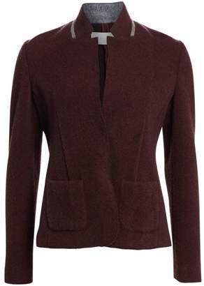 Fabiana Filippi Metallic Trim Wool-Blend Blazer