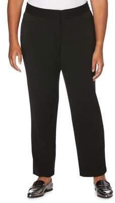4140cc3ec31 Rafaella Black Plus Size Pants - ShopStyle