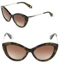 Zac Posen Shelley 50MM Butterfly Sunglasses