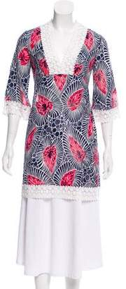 Milly Printed V-Neck Tunic